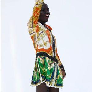 NWOT Patchwork Chain Dress